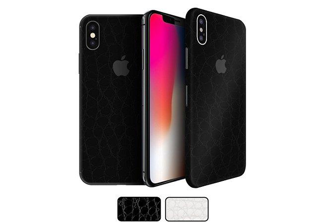 Skin iPhone X - Couro