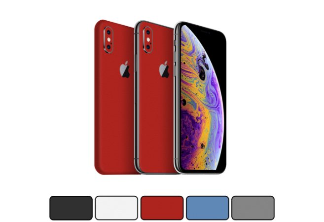Skin iPhone XS - Cores Foscas