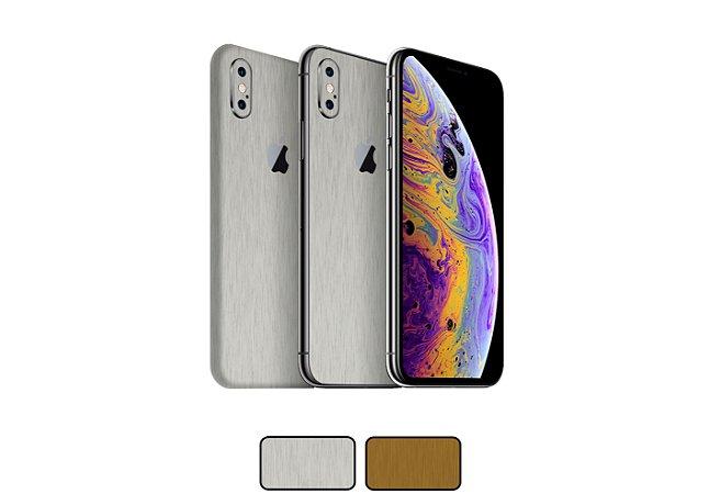 Skin iPhone XS - Metal