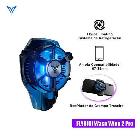 Cooler De Refrigeração Gamer Flydigi Wasp Wing 2 Pro Com Fio Para Smartphones Android / iOS