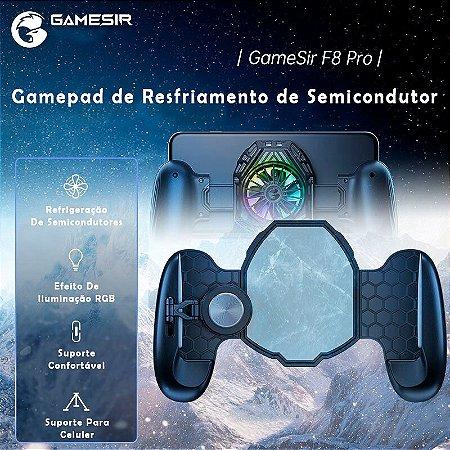 Controle Gamepad GameSir F8 Pro Snowgon Com Cooler de Resfriamento Para Android, iOS (iPhone)