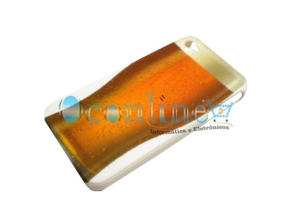 Case Acrílico Copo Cerveja iPhone 4/4S