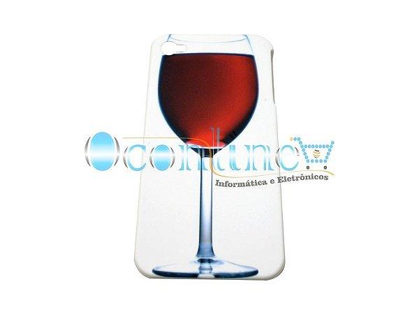 Case Acrílico Taça Vinho iPhone 4/4S