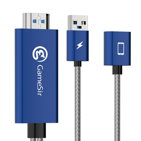 Cabo Gamesir GTV100 Conversor Usb Para Hdmi iPhone / iPad iOS