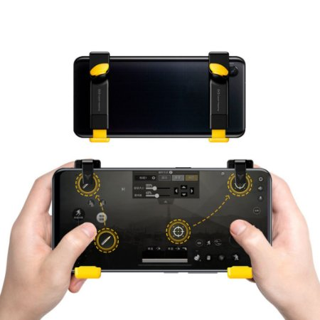 Gatilho Flydigi Stinger CapAir Mapping L1 + R1 Android / iPhone iOS PUBG / Fortnite / Free Fire / COD / FPS