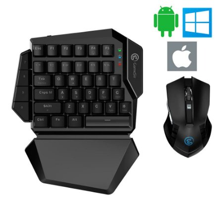 Teclado + Mouse Gamesir Z2 Wireless Android / iOS / iPad / iPhone / Windows PC / PUBG / Free Fire / FPS