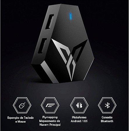Flydigi Q1 Conversor Para Mouse e Teclado Bluetooth Android / iOS / PUBG / FPS