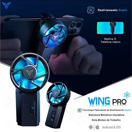Cooler de Refrigeração Flydigi Bee Wing Pro Para Celular em Jogos Android / iPhone
