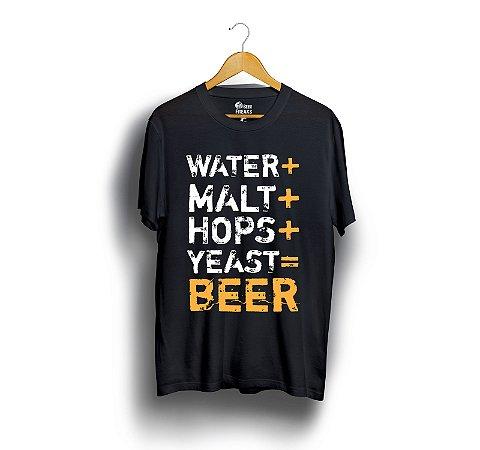 Water+ Malt+ Hops+ Yeast= Beer