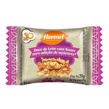 Doce de Leite com Nozes (Zero Açúcar) 20g - Flormel