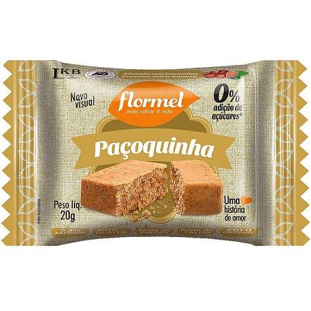 Paçoquinha (Zero Açúcar) 20g - Flormel