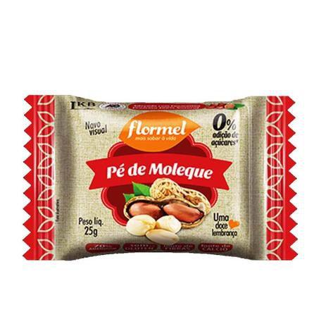 Pé de Moleque (Zero Açúcar) 20g - Flormel
