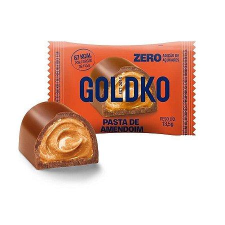 Bombom com Pasta de Amendoim (Zero Açúcar) 13,5g - GoldKo