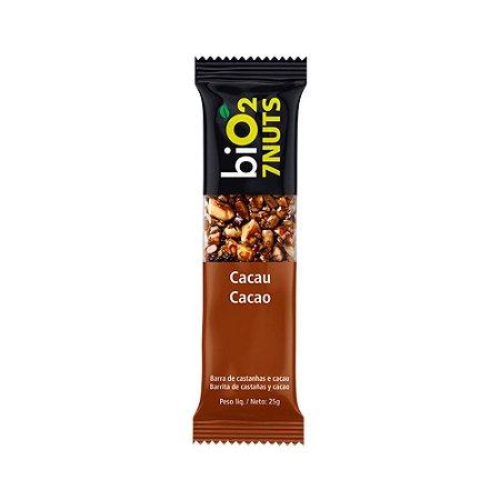 Barra de Castanhas 7 Nuts (Cacau) 25g - Bio2