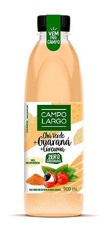 Chá Verde, Guaraná e Cúrcuma - 900 ml - Campo Largo
