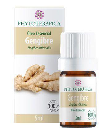 Óleo Essencial de Gengibre - 5ml - Phytoterápica