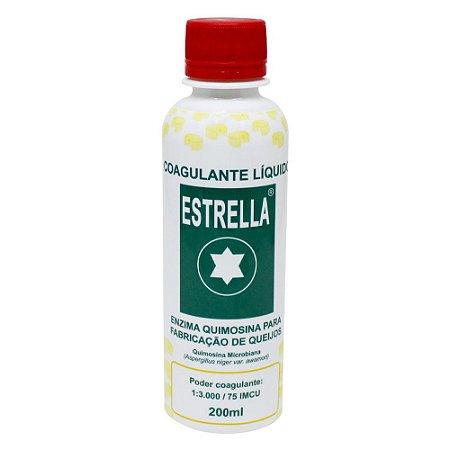 Coalho Coagulante Liquido Estrella - 200ml - Chr. Hansen
