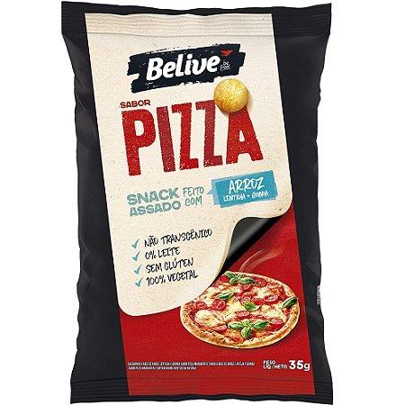 Snack Assado Sem Glúten (Pizza) 35g - Belive