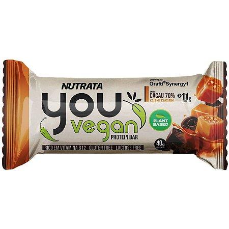 Barra de Proteína Vegana (Caramelo Salgado) 40g - You Vegan