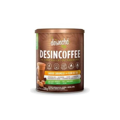 Desincoffee Sabor Caramelo Com Flor de Sal - 220g - Desinchá