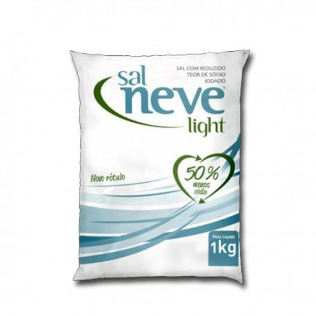 Sal Light Menos Sódio - 500g - Sal Neve