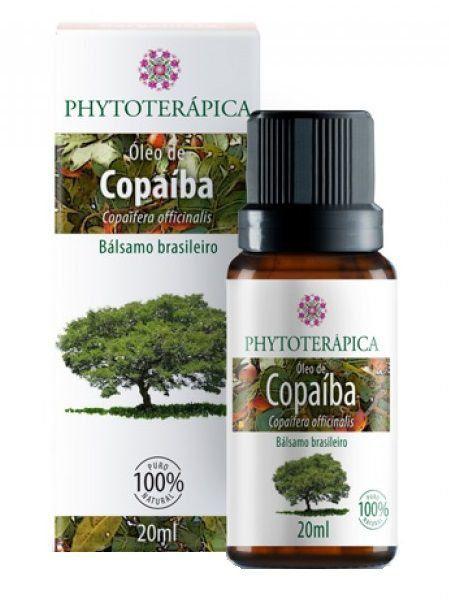 Óleo Vegetal de Copaíba - 20ml - Phytoterápica