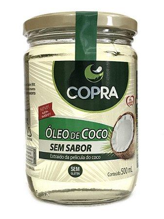 Óleo de Coco Sem Sabor/Cheiro - 500ml - Copra