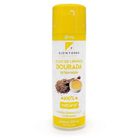Óleo de Linhaça dourada Spray Extravirgem 200ml  Klein Foods