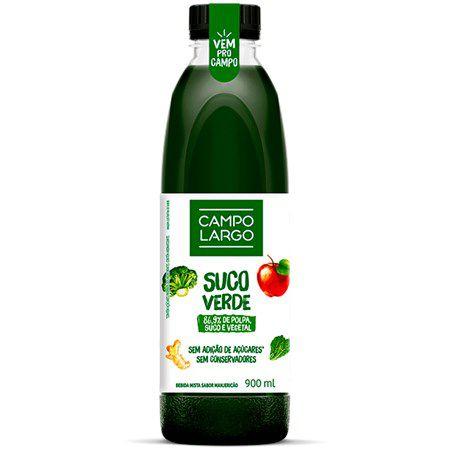 Suco Verde Frutas e Vegetais - 900ml - Campo Largo