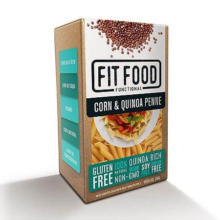 Massa de milho com quinoa tipo penne Fit Food - 250g
