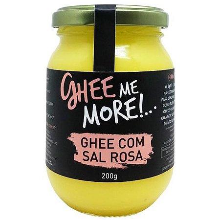 Ghee com sal rosa Ghee me More - 200g