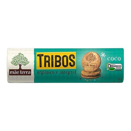 Biscoito Orgânico e Integral Tribos (Coco) 130g - Mãe Terra