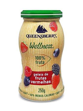Geleia de Frutas Vermelhas (Zero Açúcar) 250g - Queensberry