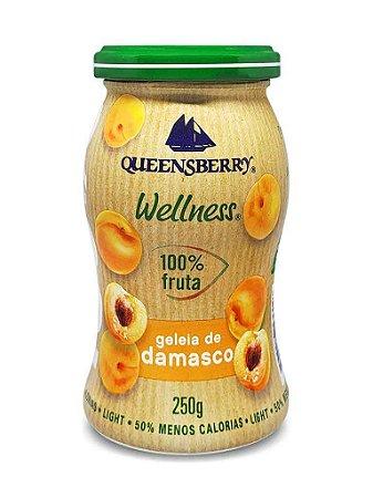 Geleia de Damasco (Zero Açúcar) 250g - Queensberry