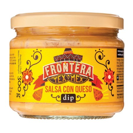 Molho tipo Mexicano (sabor Queijo) 300g - Frontera