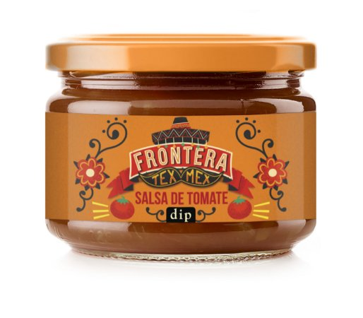 Molho tipo Mexicano (sabor Tomate) 300g - Frontera