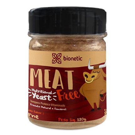 Nutritional Yeast - Tempero Proteico Vegano (sabor Carne) 120g - Bionetic