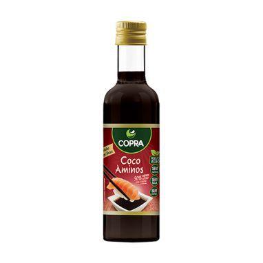Coco Aminos (Molho Vegano tipo Shoyu) 250ml - Copra