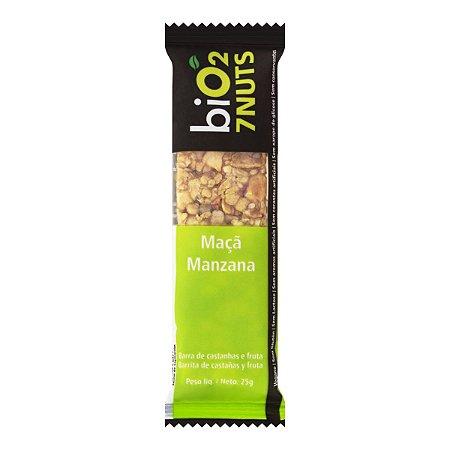 Barra de Castanhas 7 Nuts (Maçã) 25g - Bio2