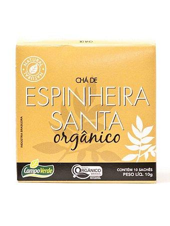 Chá de Espinheira Santa c/ 10 sachês (Orgânico) 10g - Campo Verde