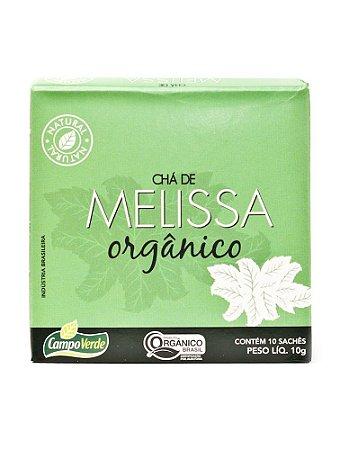 Chá de Melissa c/ 10 sachês (Orgânico) 10g - Campo Verde