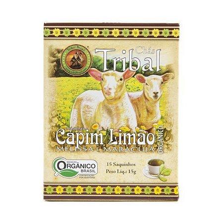 Chá Misto Orgânico c/ 15 sachês (Capim Limão, Melissa e Maracujá) 15g - Tribal