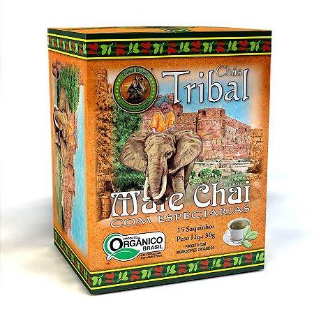 Chá Misto Orgânico c/ 15 sachês (Mate Chai com Especiarias) 15g - Tribal