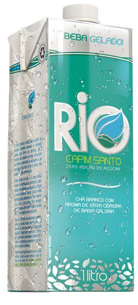 Chá Branco com Erva Cidreira (Zero Calorias) 1 litro - Rio