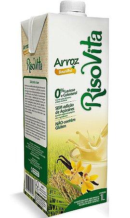 Bebida de Arroz (sabor Baunilha) 1 litro - Risovita