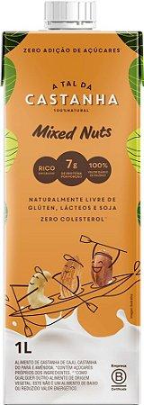 Leite Vegetal de Castanhas (Castanha de Caju, Castanha do Pará e Amêndoa) 1 litro - A Tal da Castanha