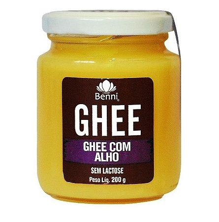 Ghee com Alho (Sem Lactose) 200g - Benni