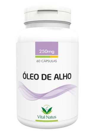 Óleo de Alho - 60 Cápsulas (250mg) - Vital Natus
