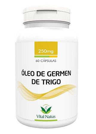 Óleo de Gérmen de Trigo - 60 Cápsulas (250mg) - Vital Natus