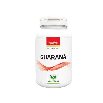 Guaraná - 60 Cápsulas (350mg) - Vital Natus